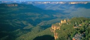 Голубые горы — фантастический мираж Австралийского континента