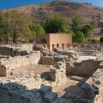 Руины древнего города Гортис