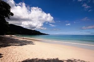 Пляж Бю Валлон Сейшелы