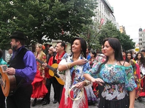 Цыганский фестиваль в Чехии