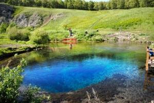 Голубое озеро возле Уфы