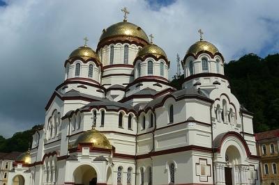 Новоафонский монастырь Святого Пантелеймона