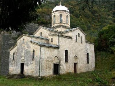 Новый Афон Храм Симона Кананита