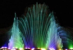 кипр  шоу фонтанов
