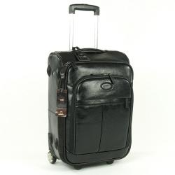 Выбираем чемодан из кожи на колесиках