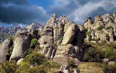 Демерджи и долина Приведений