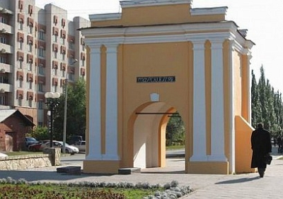 Тарские ворота в Омске