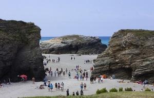 Пляж соборов Испания