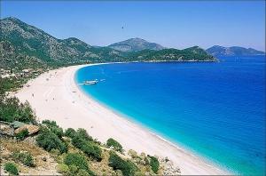 Пляжи Турции с белым песком