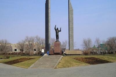 оренбург Памятник Юрию Гагарину